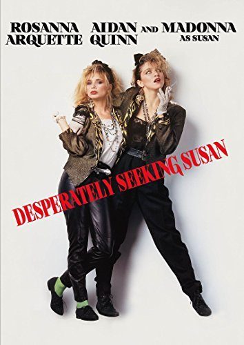Desperately Seeking Susan Madonna Arquette DVD Pg13