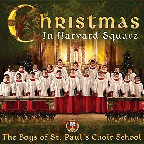 Boys Of St. Pauls Choir Christmas In Harvard Square