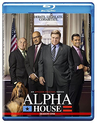 Alpha House Season 1 Blu Ray