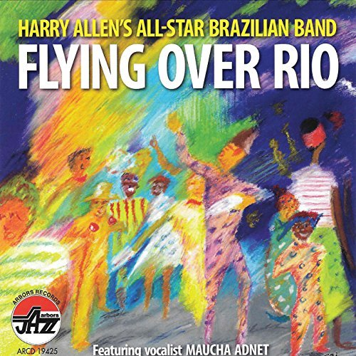 Harry Allen Flying Over Rio
