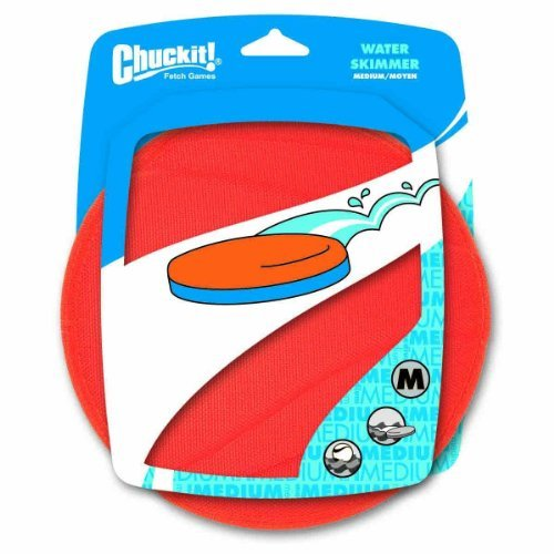 Chuckit Water Skimmer Md Or Bl Chuckit Water Skimmer Flying Disc For Dogs Medium