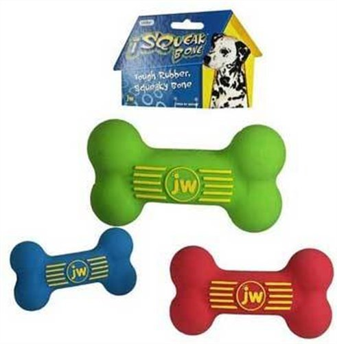 Jw Dog Isqueak Bone Lg Dog Isqueak Bone Large