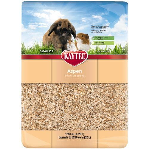 Kt Aspen 3000 Cu In Kaytee Aspen Bedding 1250 Cubic Inches Expands To 3200 Cubic Inches