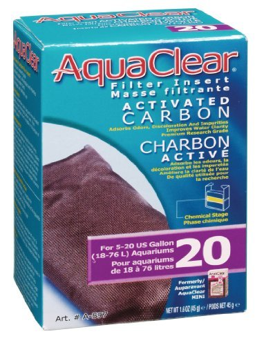 Aqua Clear 20 Actvtd Carbon Aquaclear 20 Activated Carbon 1.5 Ounce