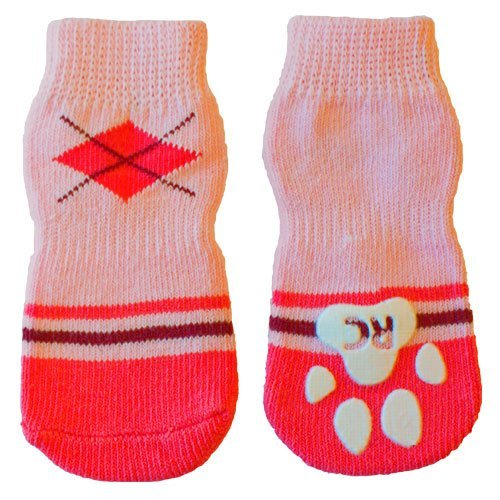Rc Pet Products Pawks Dog Socks X Large Preppy Girl