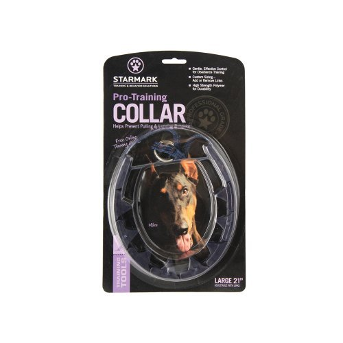Trip Pro Training Colar Lg Starmark Training Collar Large Blue