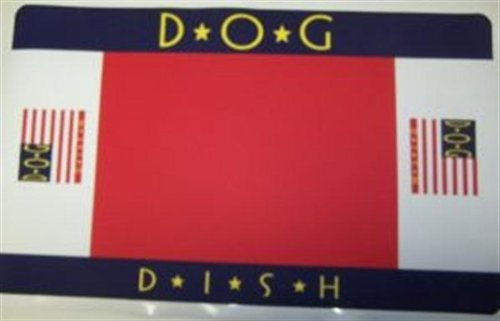 Vo Placemat Americana Dog Vo Toys Placemat Americana Dog With Header 17x11in