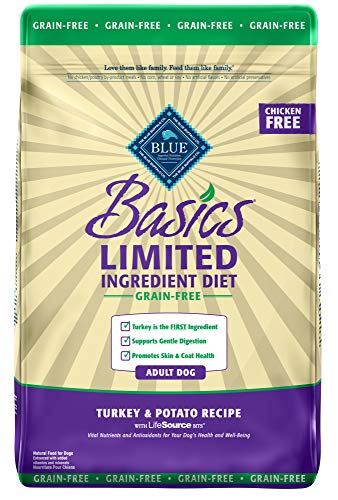 Blue Buffalo Basics Turkey & Potato 24lb Blue D Gf Tky Pot 24lbs