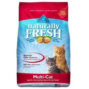 Blue Litter Multi Clump 26lb Blue Buffalo Naturally Fresh Multi Cat Clumping Cat Litter 26 Lb