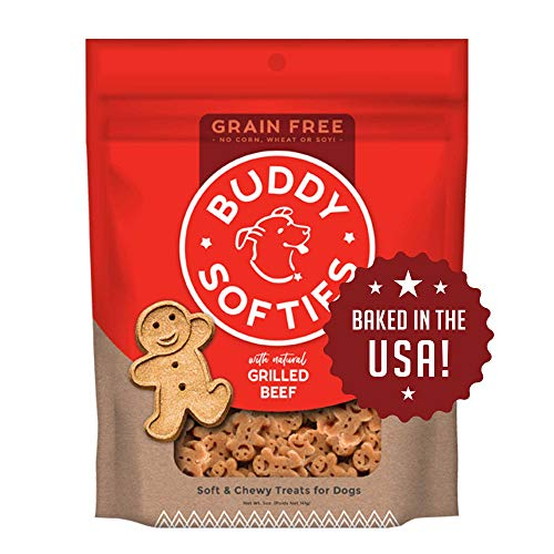 Cloud Buddy Gf Sft Beef 5oz Cloud Star Grain Free Soft And Chewy Buddy Biscuits Dog Treats Slow Roasted Beef 5 Ounce