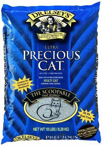 Dr. Elsey Precious Litter 18lbs Precious Cat Ultra Premium Clumping Cat Litter 18 Pound Bag