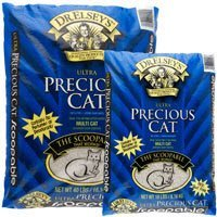 Dr Elsey's Ultra Scoop 40lb Precious Cat Dr. Elsey's Ultra Scoopable Multi Cat Cat Litter