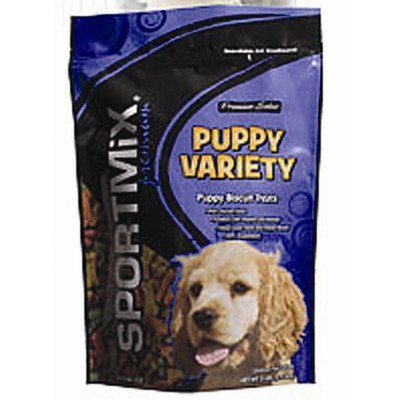 Sport Bulk Biscuit Puppy 20lb Wells Sportmix Variety Puppy Biscuit Treats 20 Lb. Bag