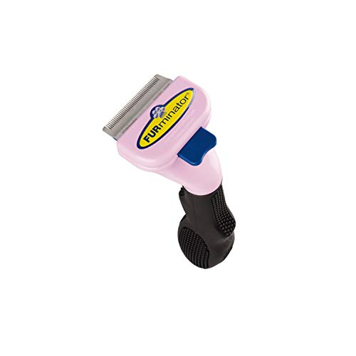 Furminator C Short Hair D Shed Furminator Short Hair Deshedding Tool For Cats Small (102001)