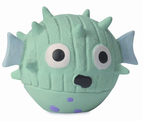 Huggle Mr Prickles Blowfish Lg Hugglehounds Ruff Tex Mr. Prickles The Blowfish Pet Squeak Toy Large
