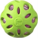 Jw Crackle Heads Ball Md Jw Pet Company Crackle Heads Crackle Ball Dog Toy Medium Colors Vary