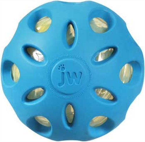 Jw Crackle Heads Ball Lg Jw Pet Company Crackle Heads Crackle Ball Dog Toy Large Colors Vary