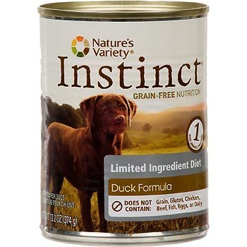 Nature's Variety Instinct Grainfree Limited Ingredient Diet Duck 13.2oz