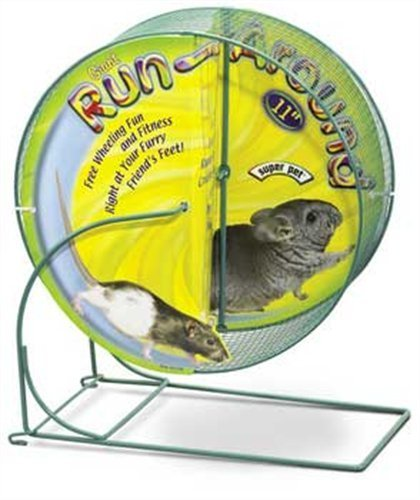 Spet Wheel Runaround Gnt 11in Kaytee Run Around Giant Exercise Wheel 11 Inch Colors Vary