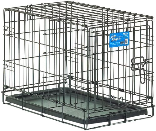 Pet Life Zzmw Lifestages Crate 22x13x16 Midwest Life Stages Single