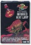 Zoo Infrared Heat Lamp 100w Zoo Med Nocturnal Infrared Incandescent Heat Lamp 100 Watts