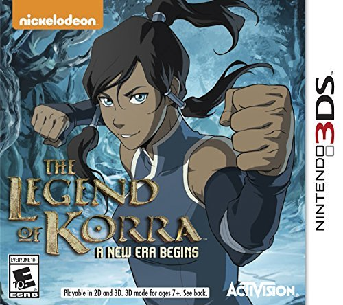 Nintendo 3ds The Legend Of Korra A New Era Begins