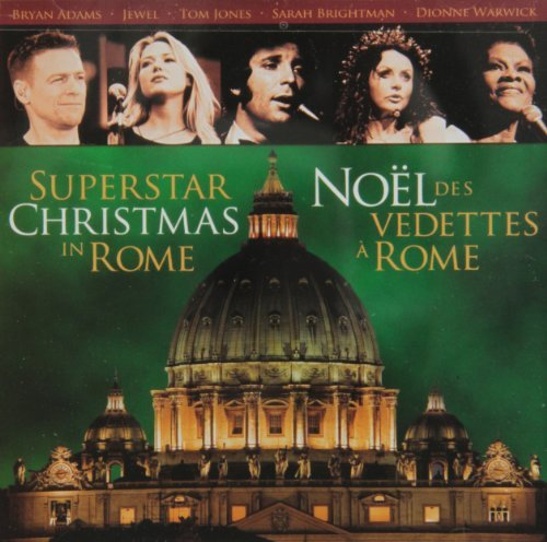 Bryan Adams Jewel Tom Jones Dionne Warwick Felicia Superstar Christmas In Rome