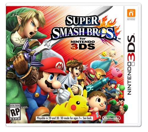 Nintendo 3ds Super Smash Brothers