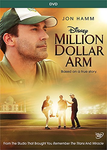 Million Dollar Arm Hamm Arkin Mandvi DVD Pg