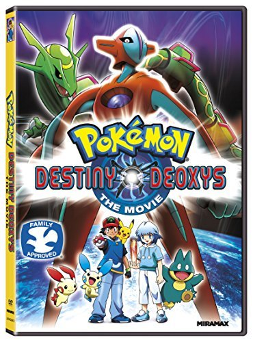 Pokemon Destiny Deoxys Pokemon Destiny Deoxys DVD