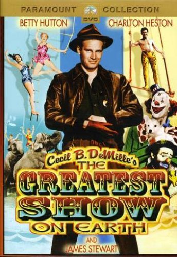 Greatest Show On Earth Hutton Wilde Heston Lamour Nr