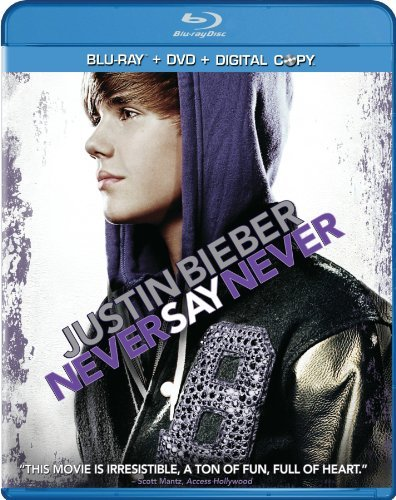 Bieber Justin Justin Bieber Never Say Never Blu Ray Incl. DVD