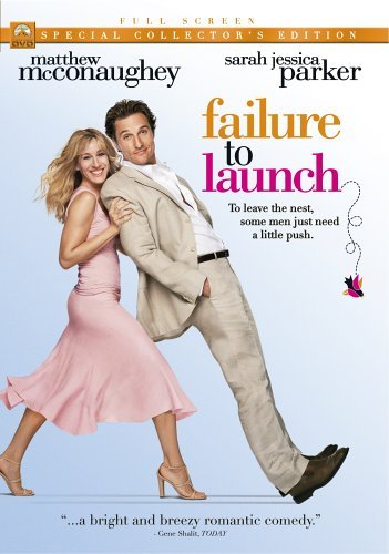 Failure To Launch Mcconaughey Parker Bates Clr Pg13 Special Col