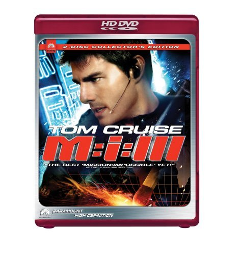 Mission Impossible 3 Cruise Rhames Fishburne Clr Ws Hd DVD Pg13 2 DVD Coll