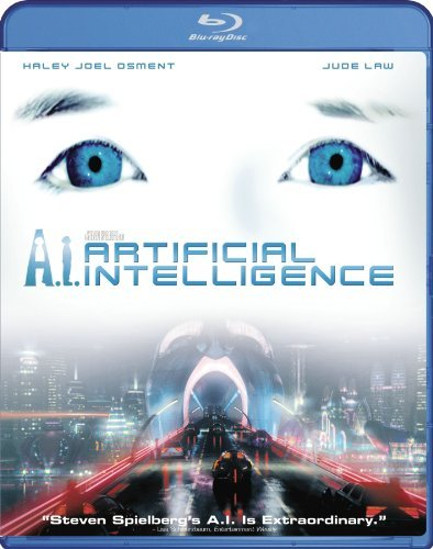 A.I. Artificial Intelligence Osment Law O'connor Robards Blu Ray Pg13