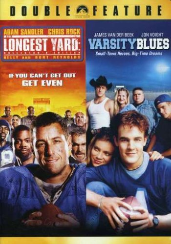 Longest Yard Varsity Blues Football Double Feature Ws Nr 2 DVD