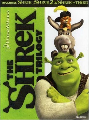 Shrek Trilogy Shrek Trilogy Nr 3 DVD
