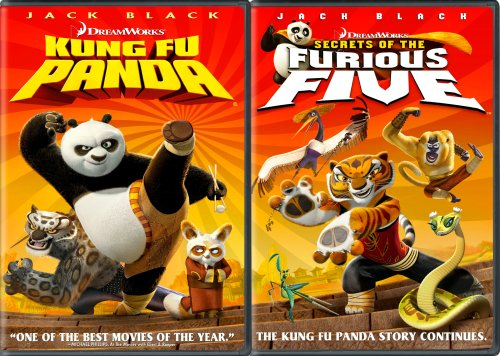 Kung Fu Panda Secrets Of The Furious Five Kung Fu Panda Secrets Of The Furious Five Ws Side By Side Pg 2 DVD