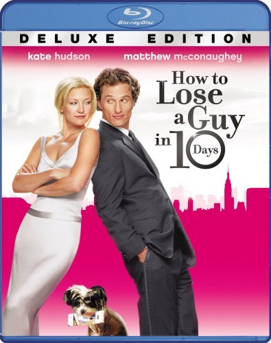 How To Lose A Guy In 10 Days Hudson Mcconaughey Blu Ray Ws Deluxe Ed. Pg13