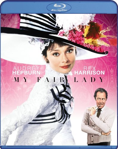 My Fair Lady Hepburn Harrison Hyde White Blu Ray Ws G