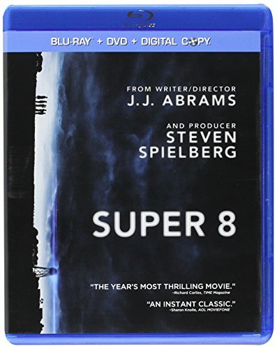 Super 8 Chandler Fanning Courtney Blu Ray Pg13 Incl. Dc