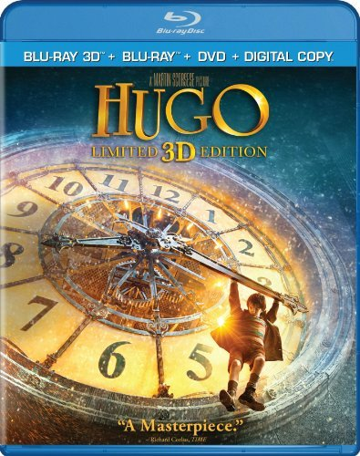 Hugo 3d 2d Kinglsey Cohen Butterfield Ws Blu Ray Pg 2 Br Incl. DVD Uv
