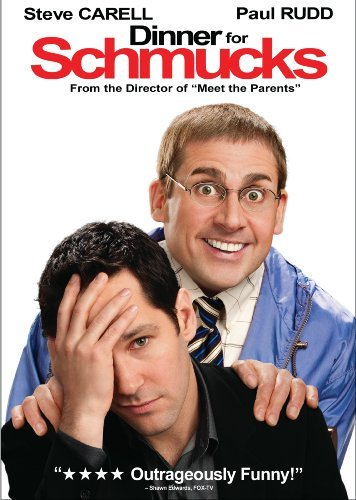 Dinner For Schmucks Carell Rudd DVD Pg13