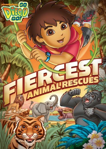 Fiercest Animal Rescues Go Diego Go Nr