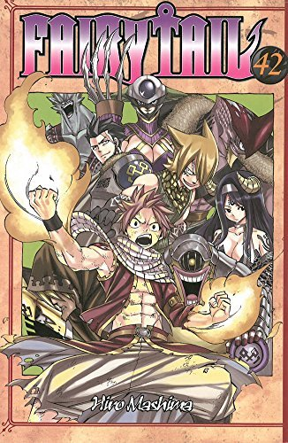 Hiro Mashima Fairy Tail Volume 42