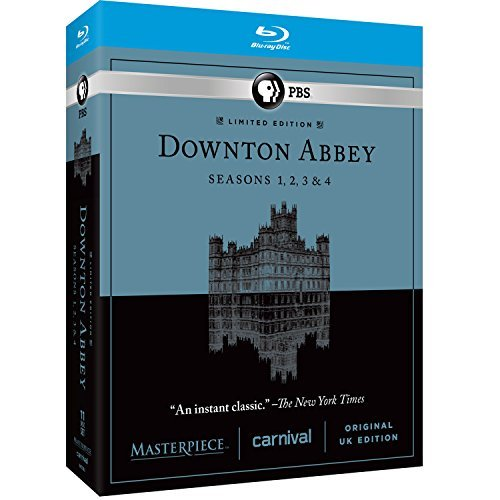 Downton Abbey Seasons 1 4 Blu Ray