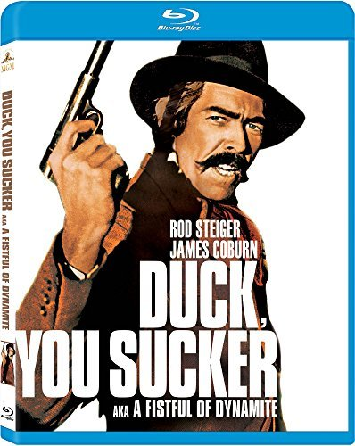Duck You Sucker (fistful Of Dynamite) Coburn Steiger Blu Ray Pg