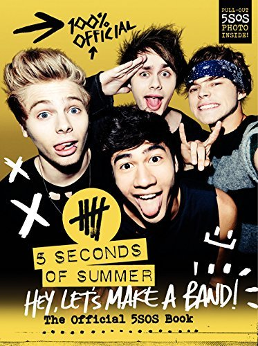 5. Seconds Of Summer Hey Let's Make A Band! The Official 5sos Book