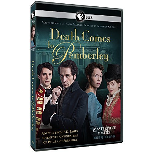 Death Comes To Pemberley Masterpiece DVD Nr