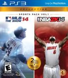 Ps3 Sports Pack Vol. 1 Mlb 14 The Show Nba 2k14